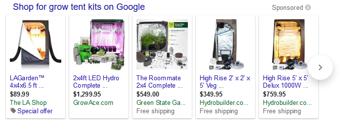 Grow Tent Kits and PACKAGES